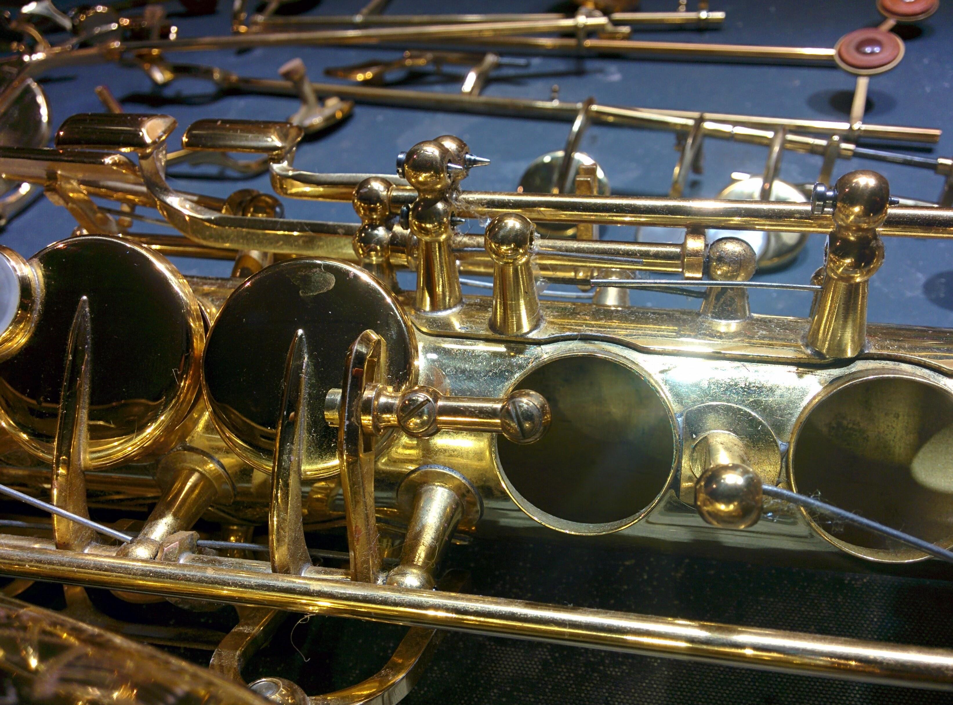 Réparation saxophone