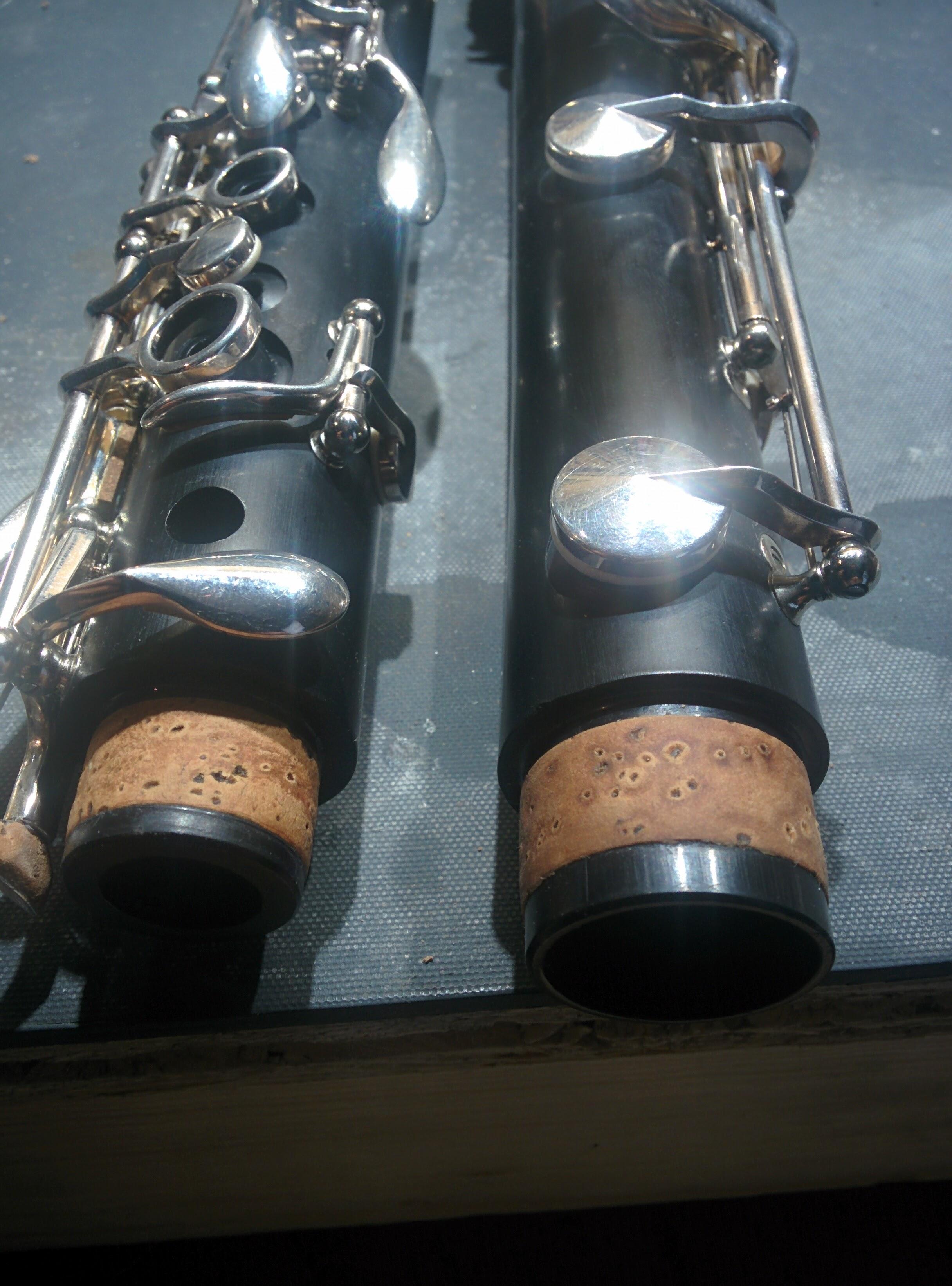 interventions sur clarinettes