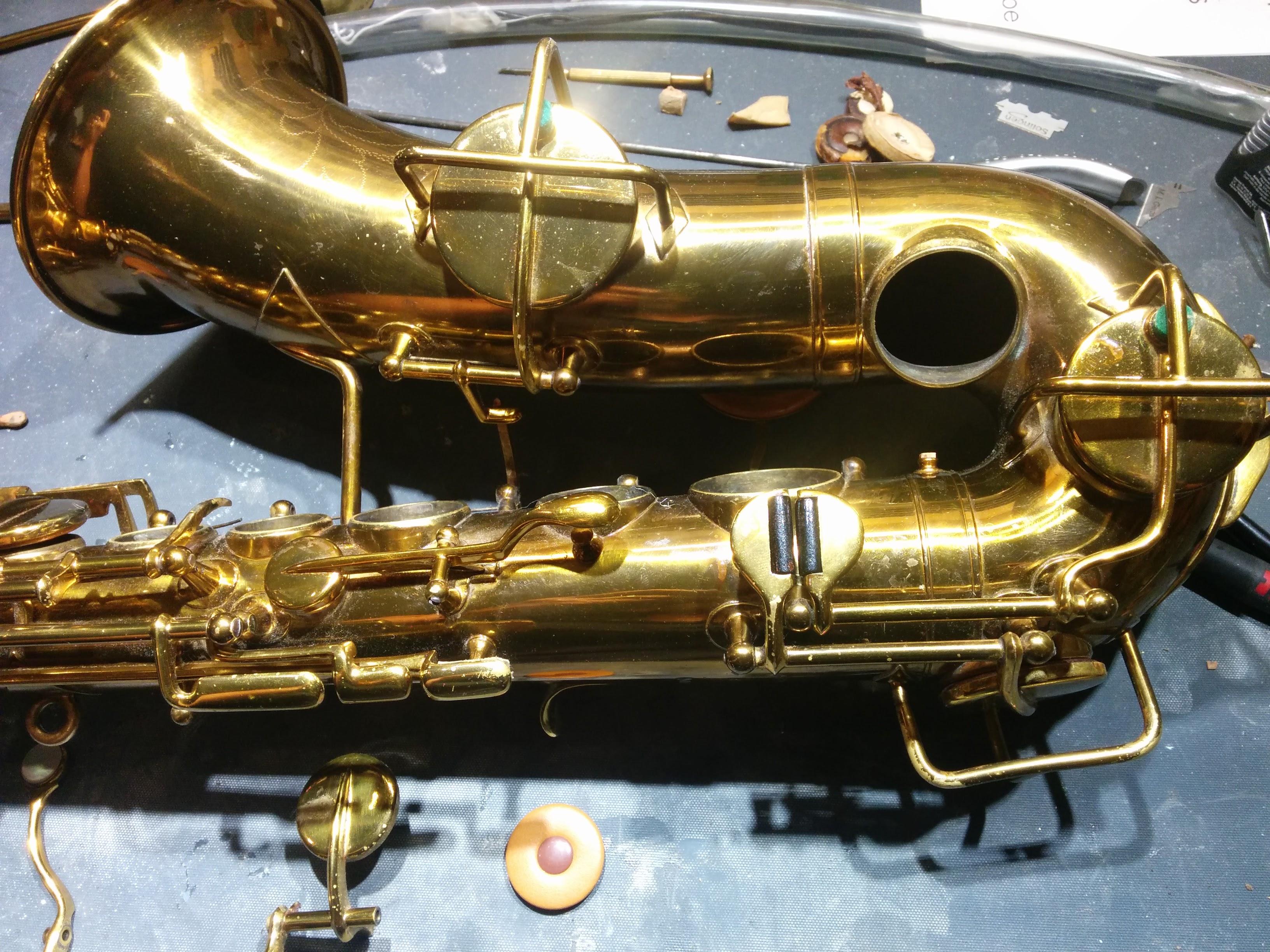interventions sur saxophones